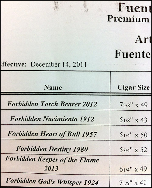 FFOX Forbidden X 100 Year Size Sheet