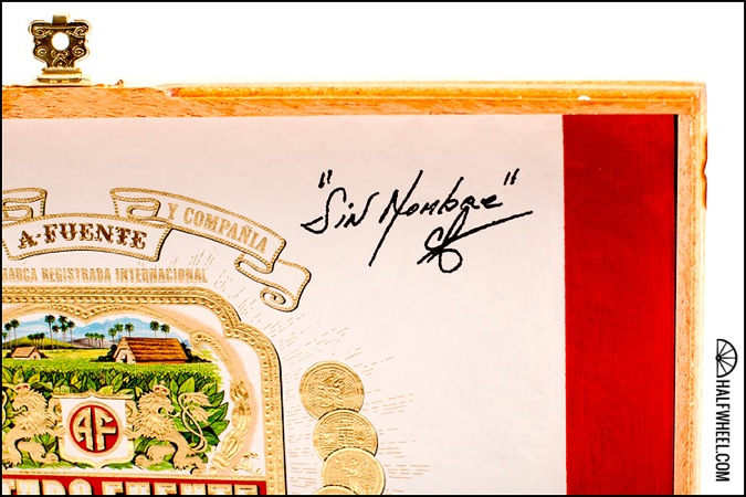 Arturo Fuente Unnamed Reserve 2012 Box Signature