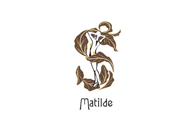 Matilde Cigars Logo with wordmark