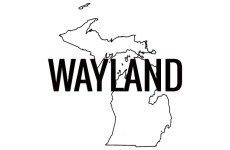 Wayland Michigan graphic