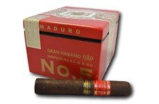 Gran Habano Corojo 5 Maduro box and single feature