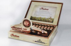 Indian Motorcycle Cigars 2015-2 open box feature