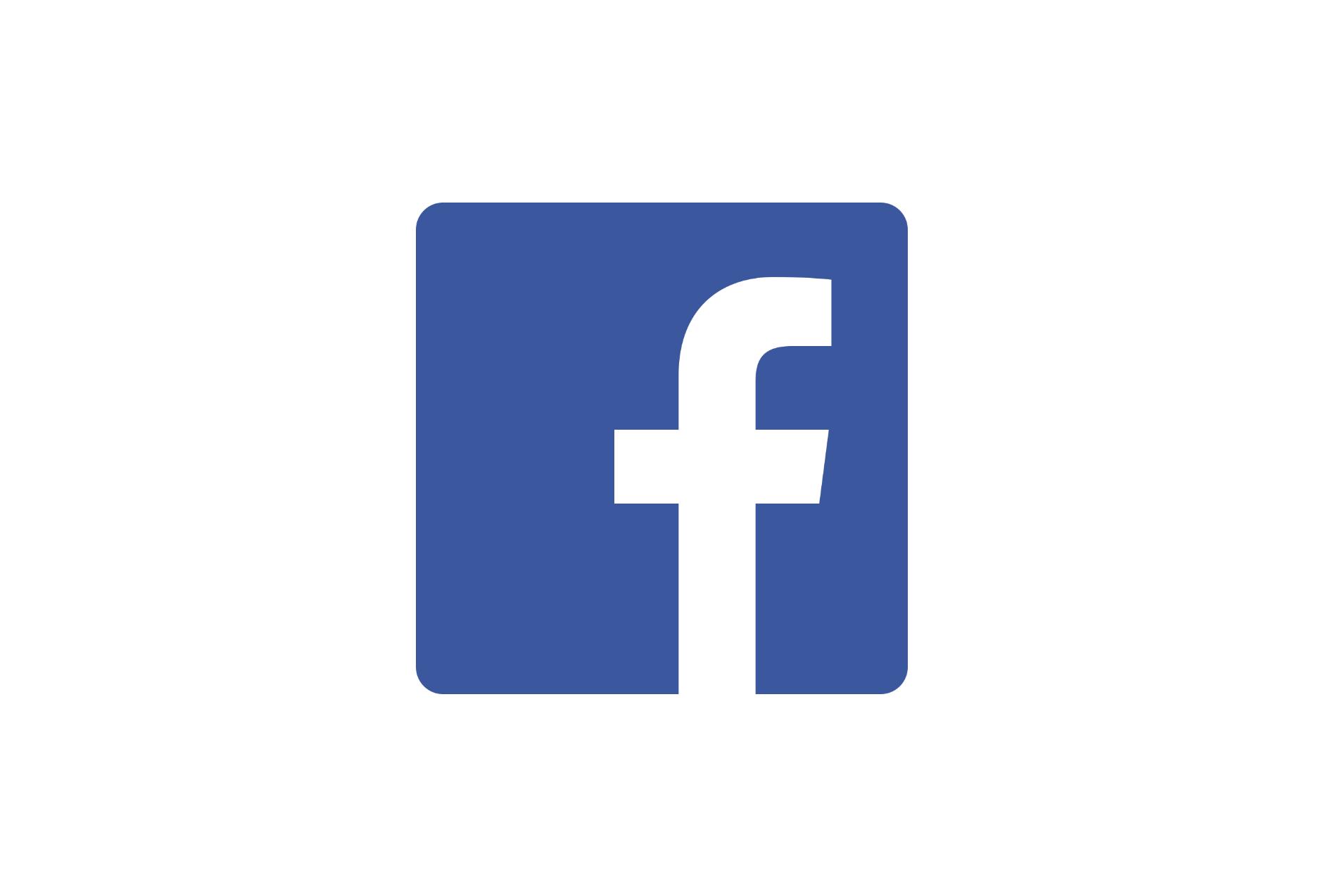 facebook logo white background halfwheel