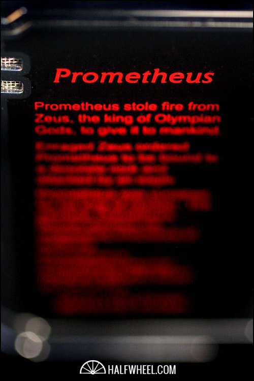 Prometheus 2011 Limited Edition God of Fire Magma T 3