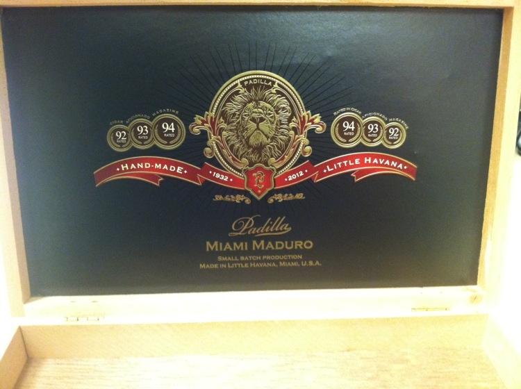 Padilla Miami Maduro Box 2