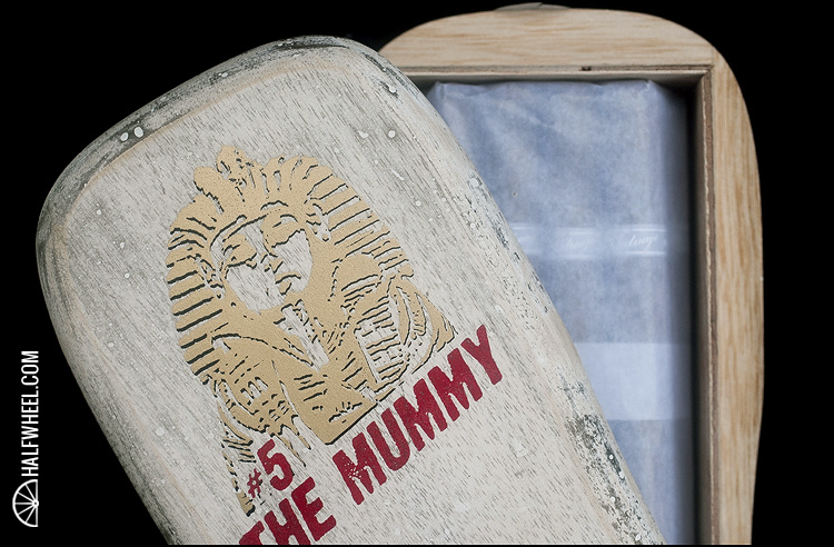 Tatuaje The Mummy Coffin 2
