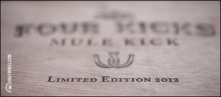 Four Kicks Limited Edition 2012 Mule Kick Box 2