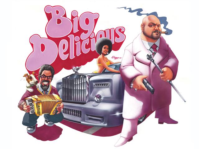Room101 Big Delicious Logo 2