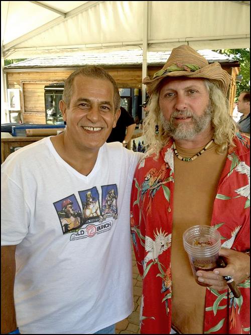 Eddie Ortega and Island Jim Robinson via Ortega s Facebook