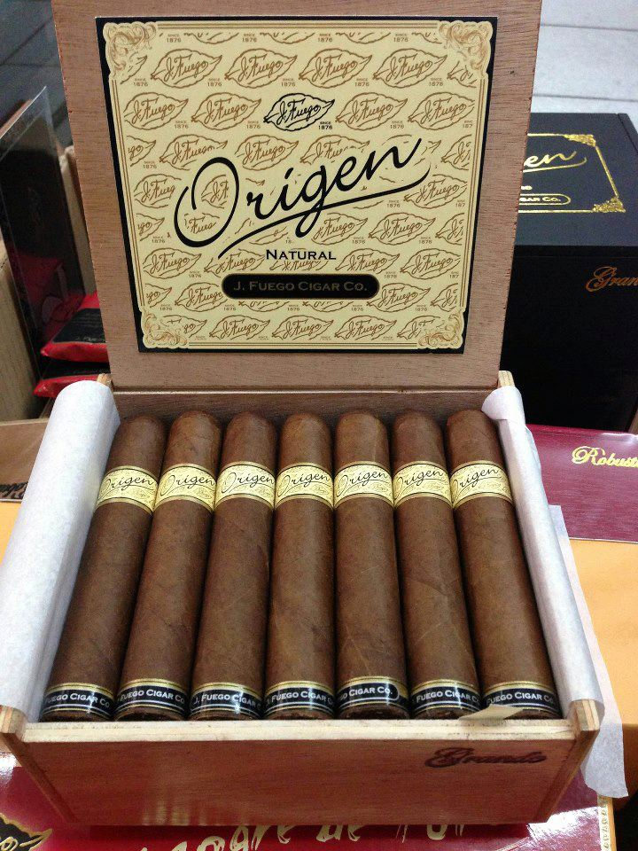 J Fuego Origen new packaging - Feb 2013