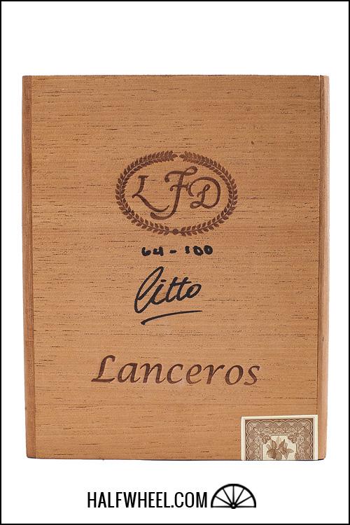 La Flor Dominicana Double Ligero Cameroon Lancero Box 1