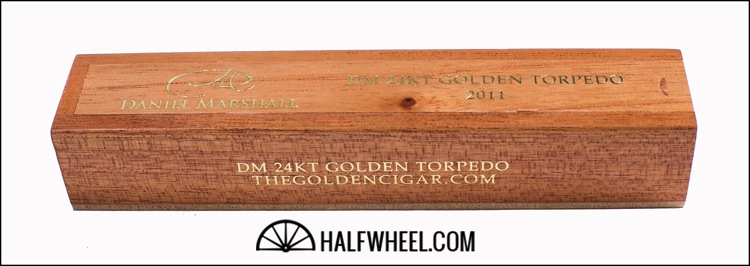 Daniel Marshall 24kt Golden Torpedo 2011 Coffin 1