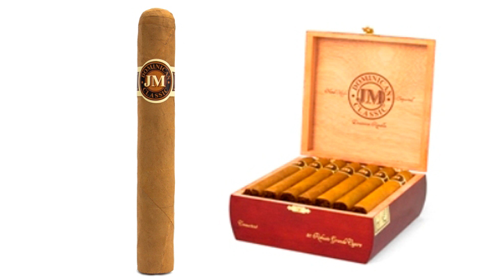 JM Classic CT Robusto Grande Single and Box