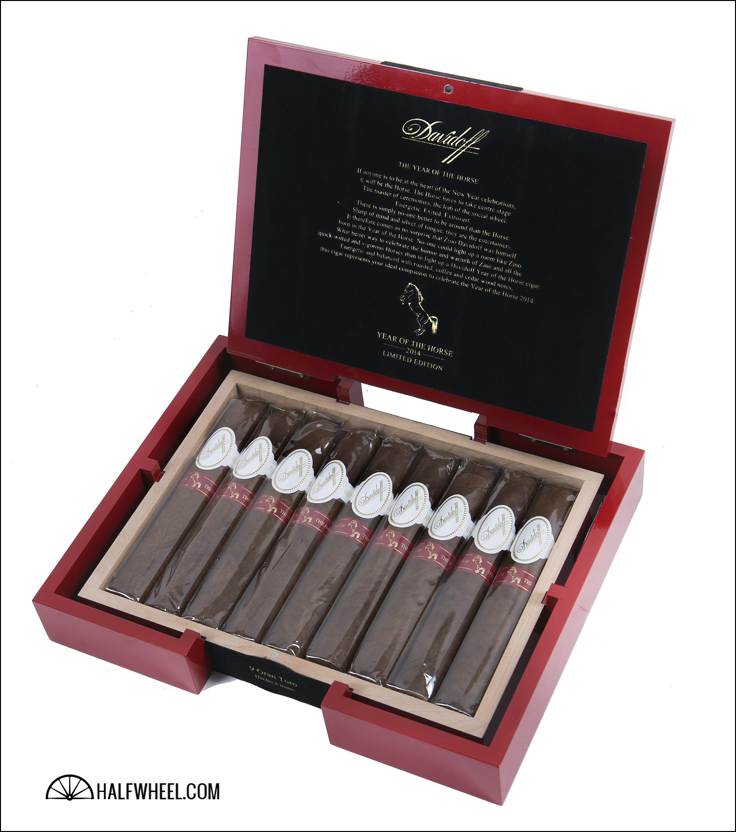 Davidoff Limited Edition 2014 Year of the Horse Box 3