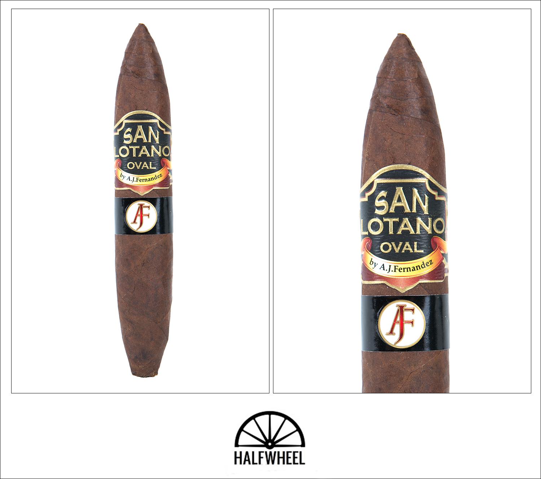 San Lotano Oval Habano Limited Edition Pigskin Super Smoke Figurado XLVIII 1