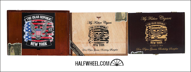 The Cigar Republic Pepin Samplers