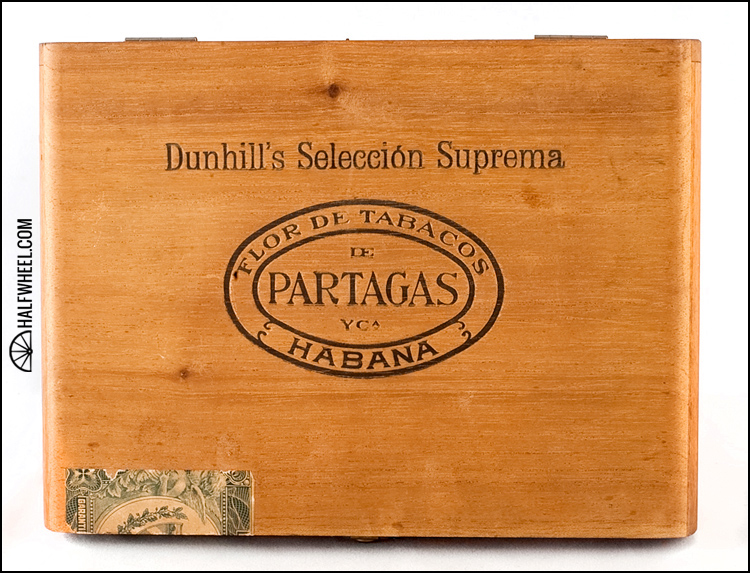 Partagas Dunhill Seleccion Suprema No 281 Box 1