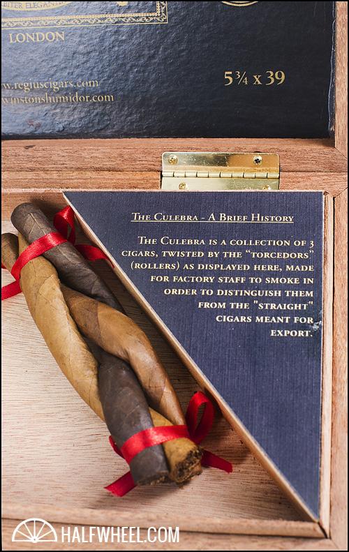 Regius Winstons Humidor Third Anniversary Culebra Rosado Box 3