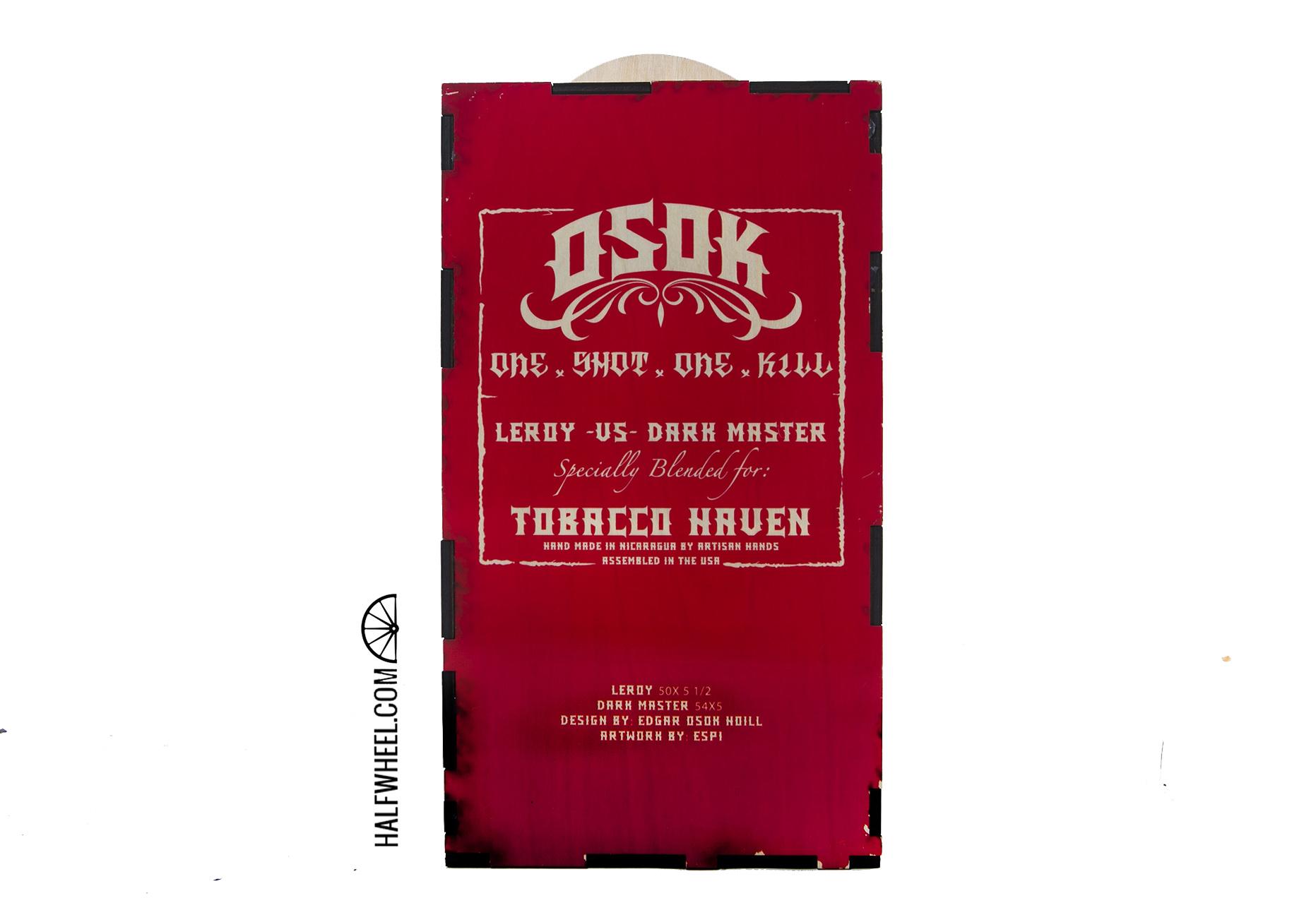 Leroy VS Dark Master Box Bottom