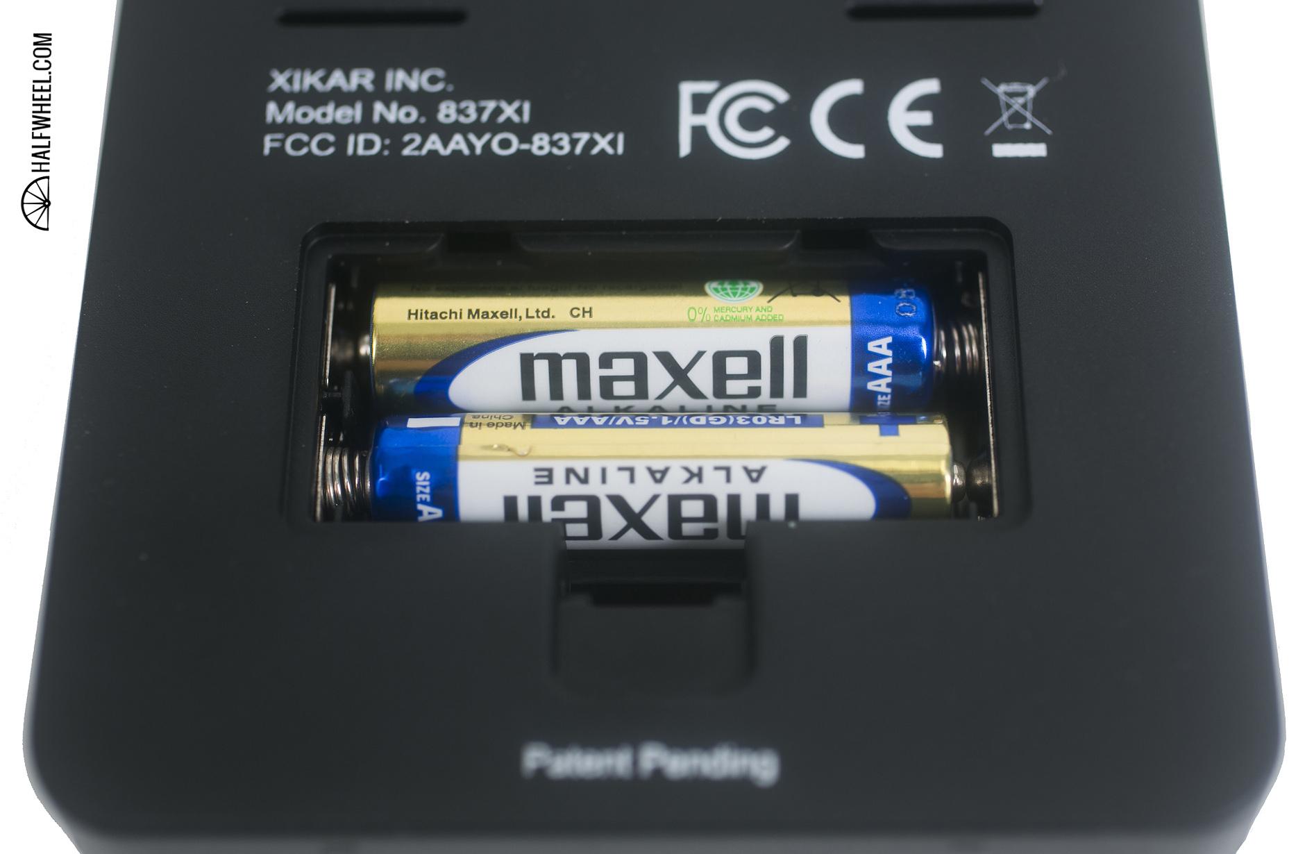 XIKAR PuroTemp Wireless Hygrometer Batteries