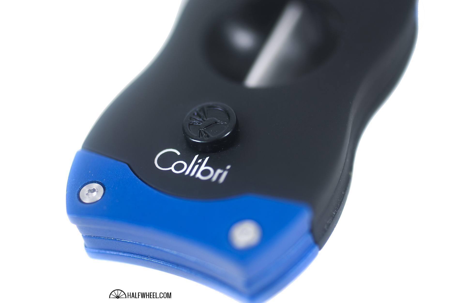 Colibri V Cut Cigar Cutter Bottom
