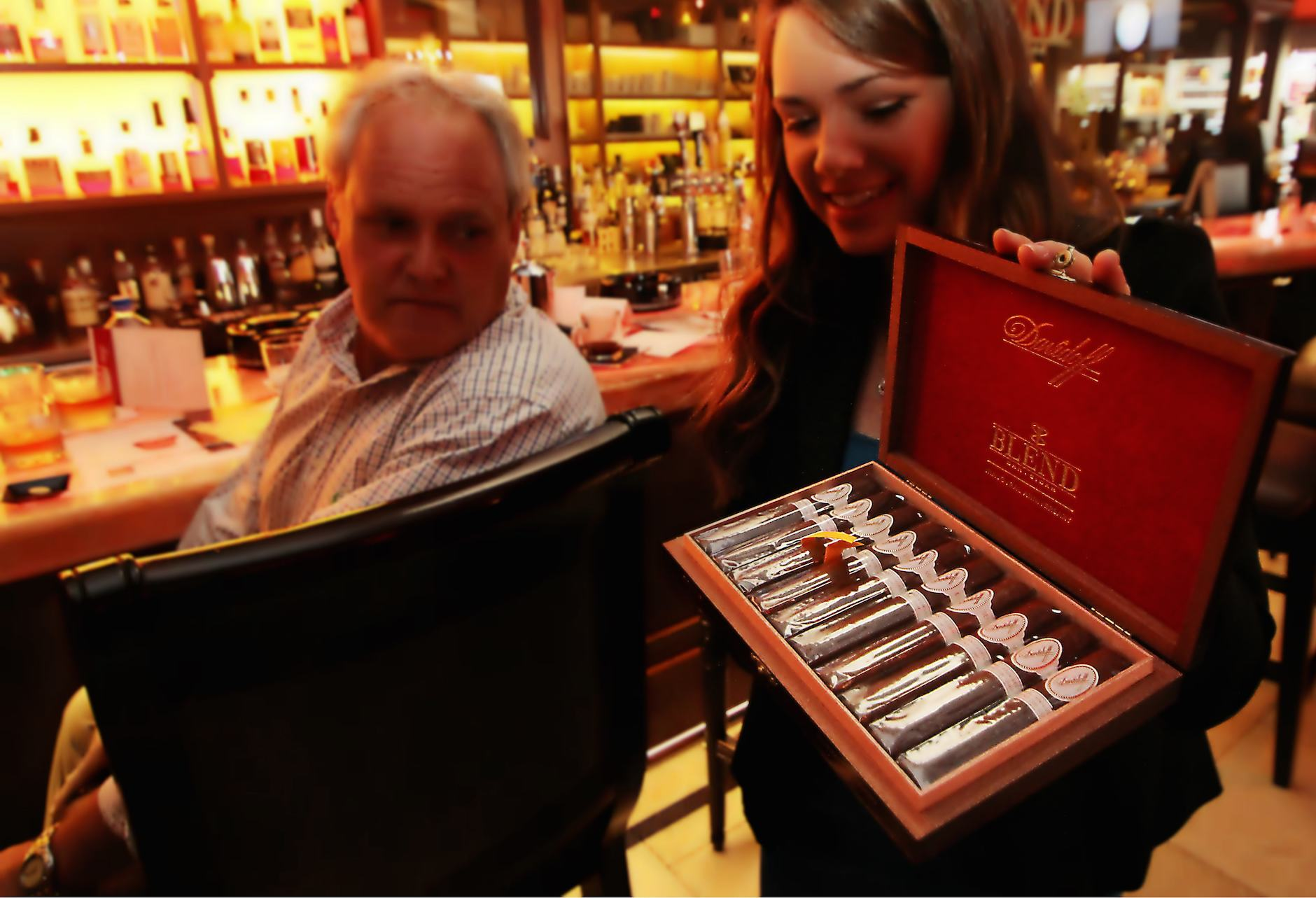 Davidoff Blend Bar Cigar Inaugural Anniversary Launch