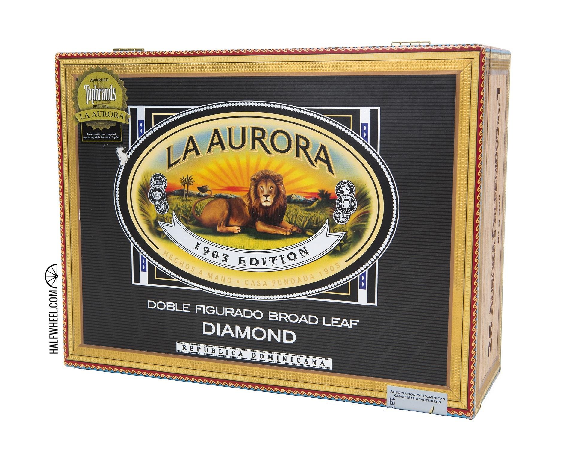 La Aurora Preferidos Diamond No 1 Box