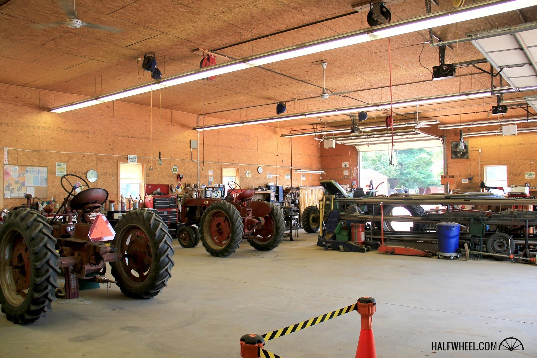Altadis Connecticut Field maintenance shop