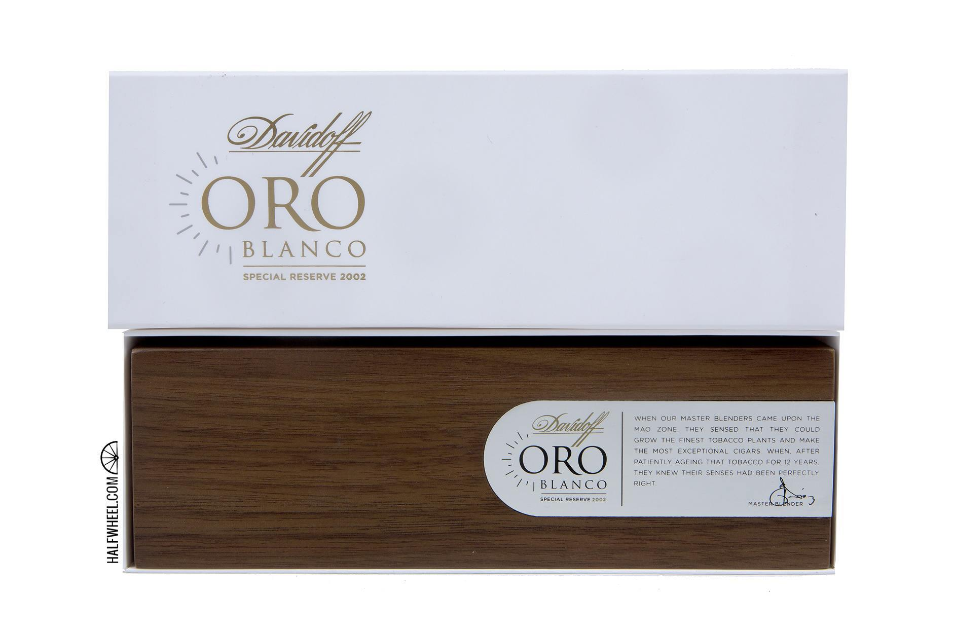 Davidoff Oro Blanco Coffin 1
