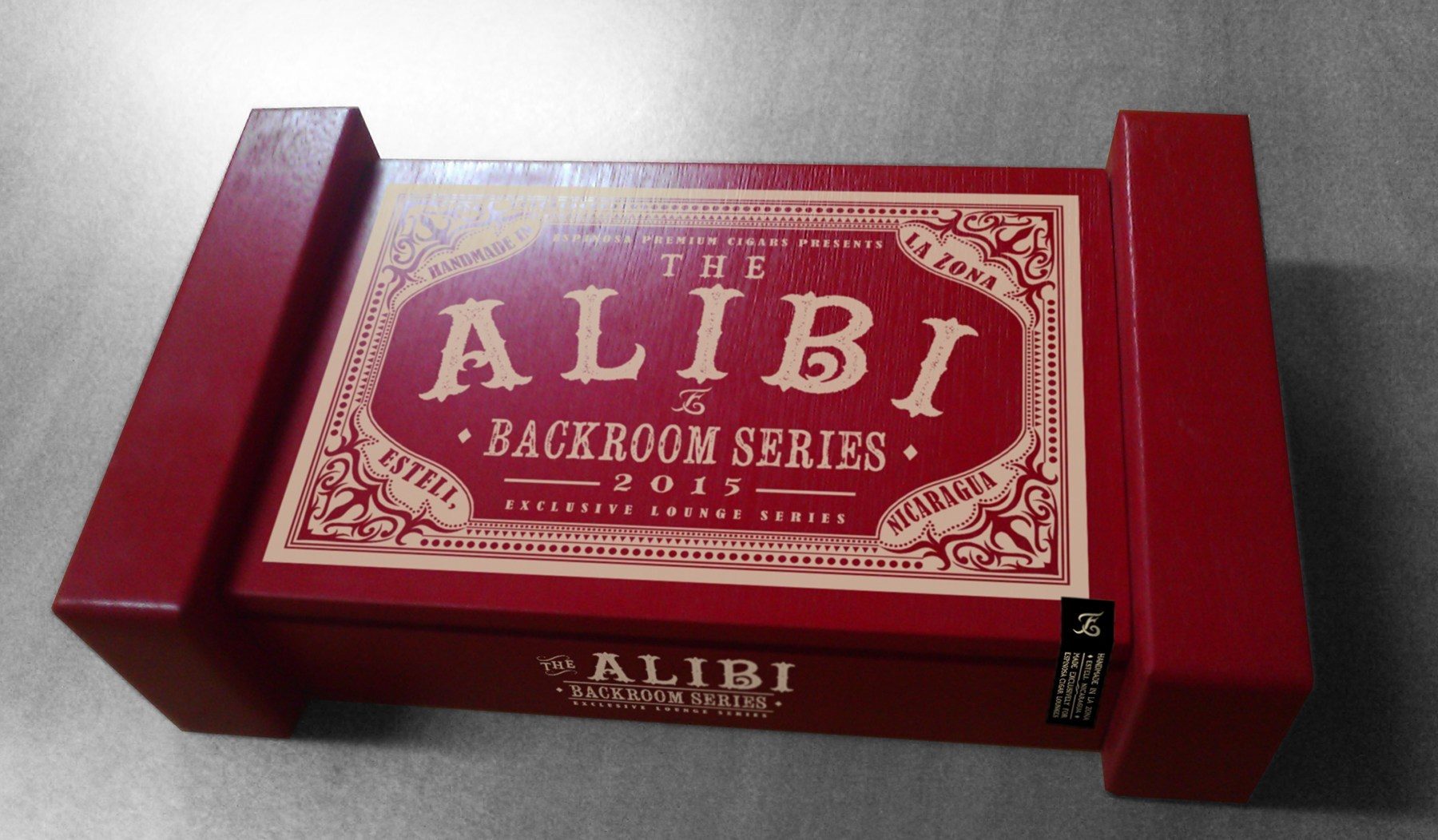 Espinosa Cigars The Alibi Cigar Box