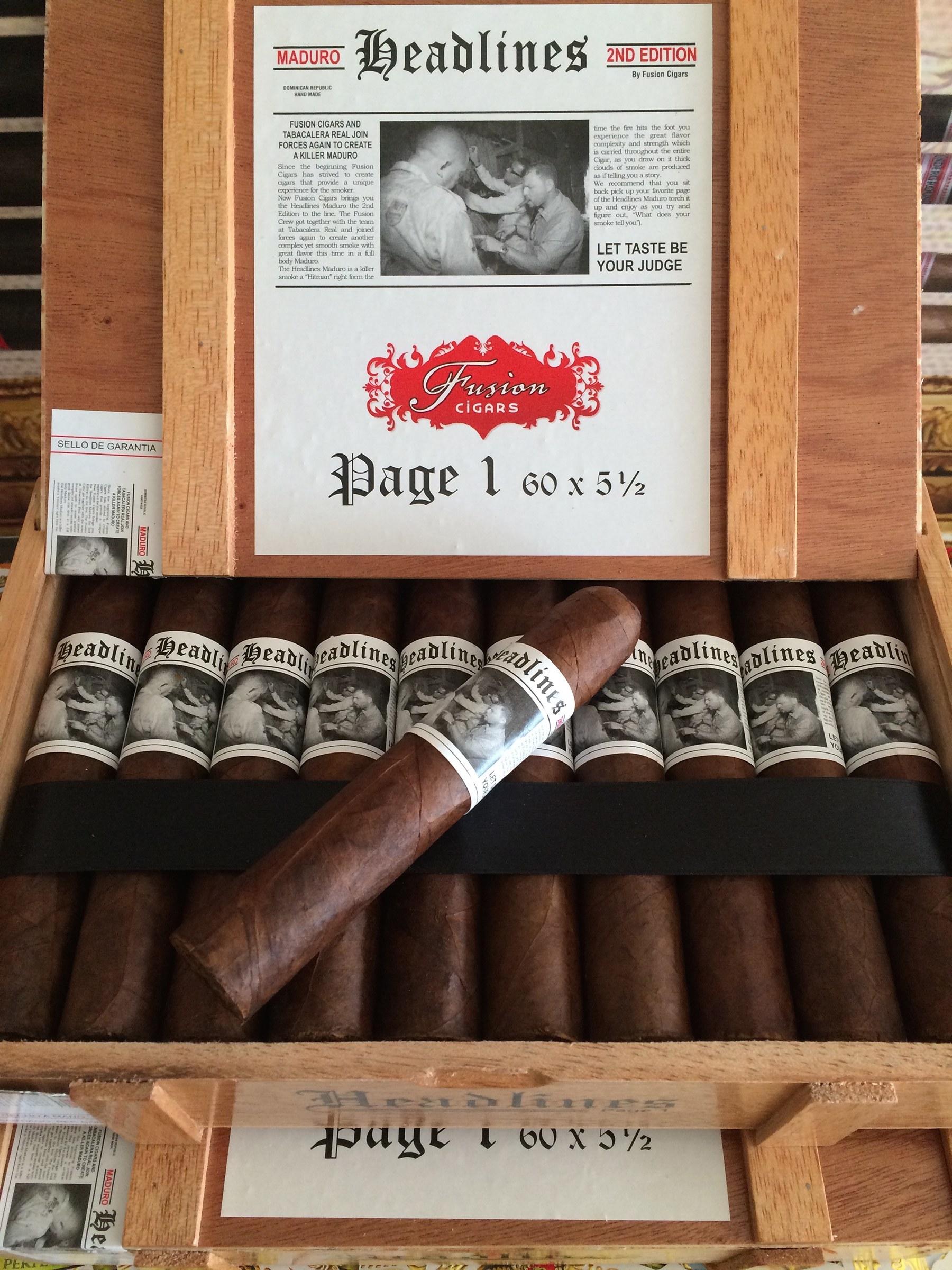 Headlines Cigar Second Edition