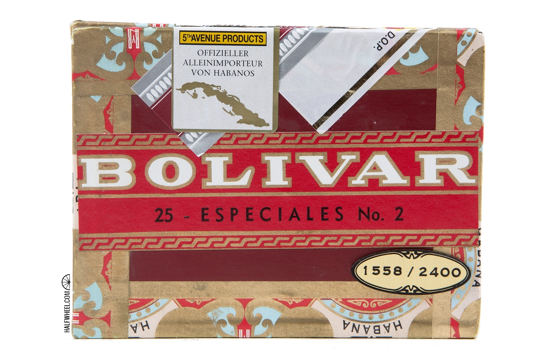 Bolivar Especiales No 2  ER Germany 2009 Box 3