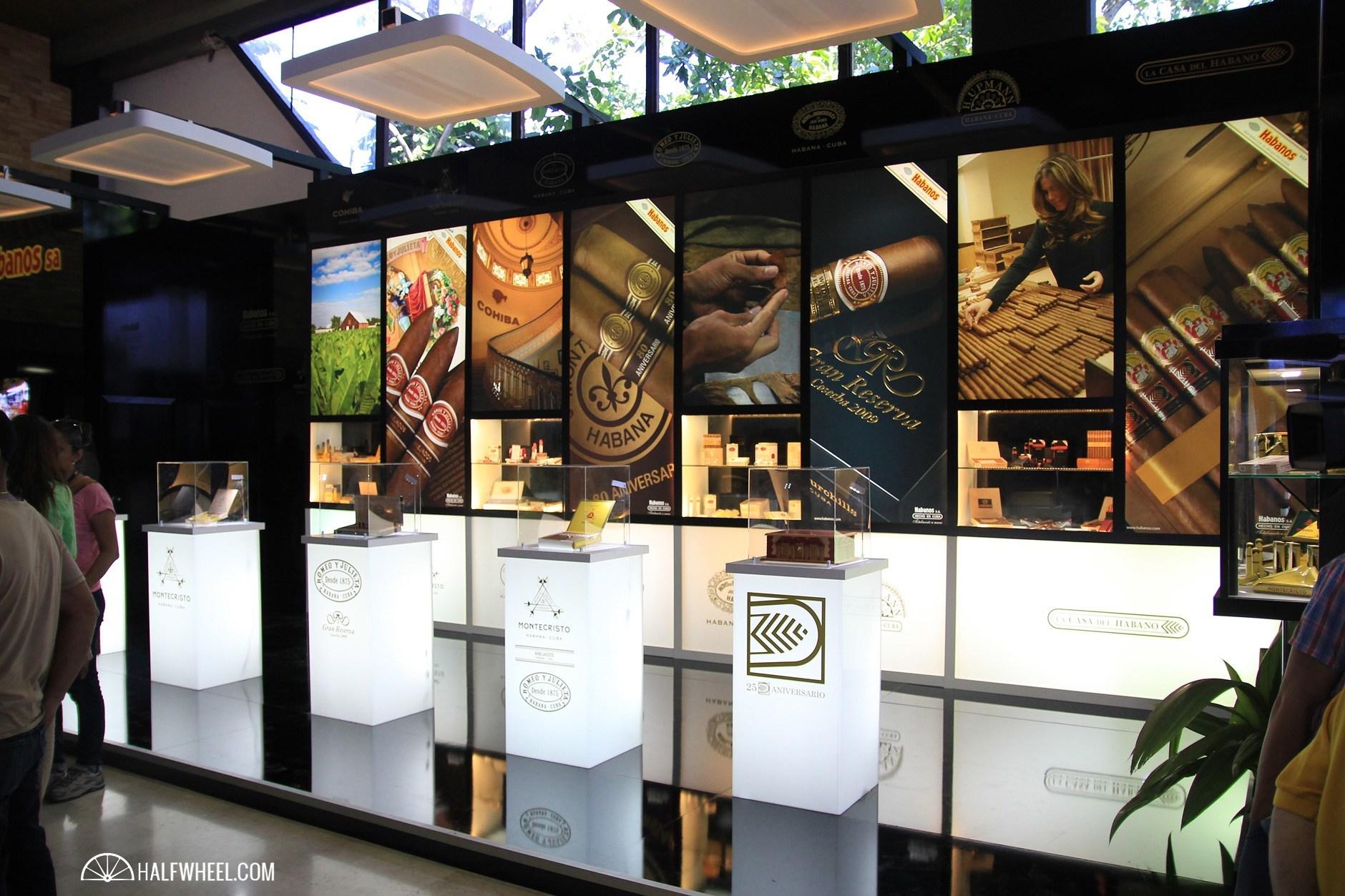 Habanos Day 1  Habanos booth