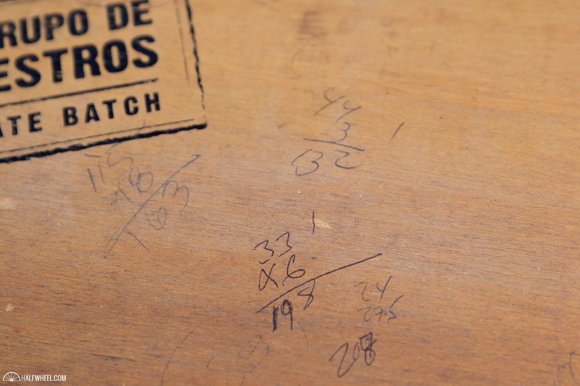 Montecristo Grupo de Maestros Private Batch Box Math