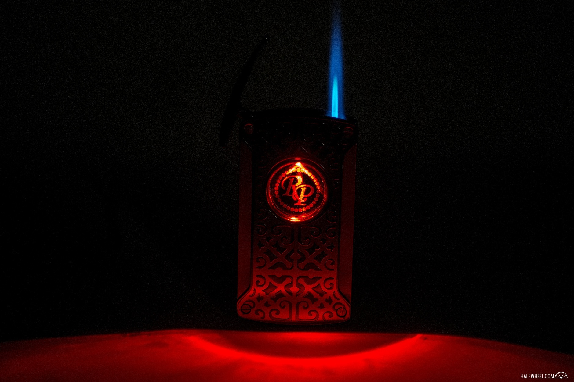 Rocky Patel Laser Lighter Lit