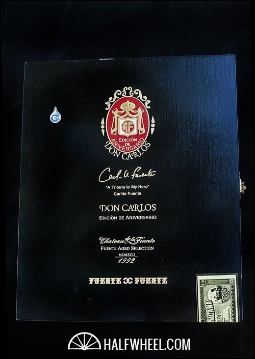 Don Carlos Edición de Aniversario 2007 Toro Box 1