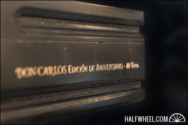 Don Carlos Edición de Aniversario 2007 Toro Box 2