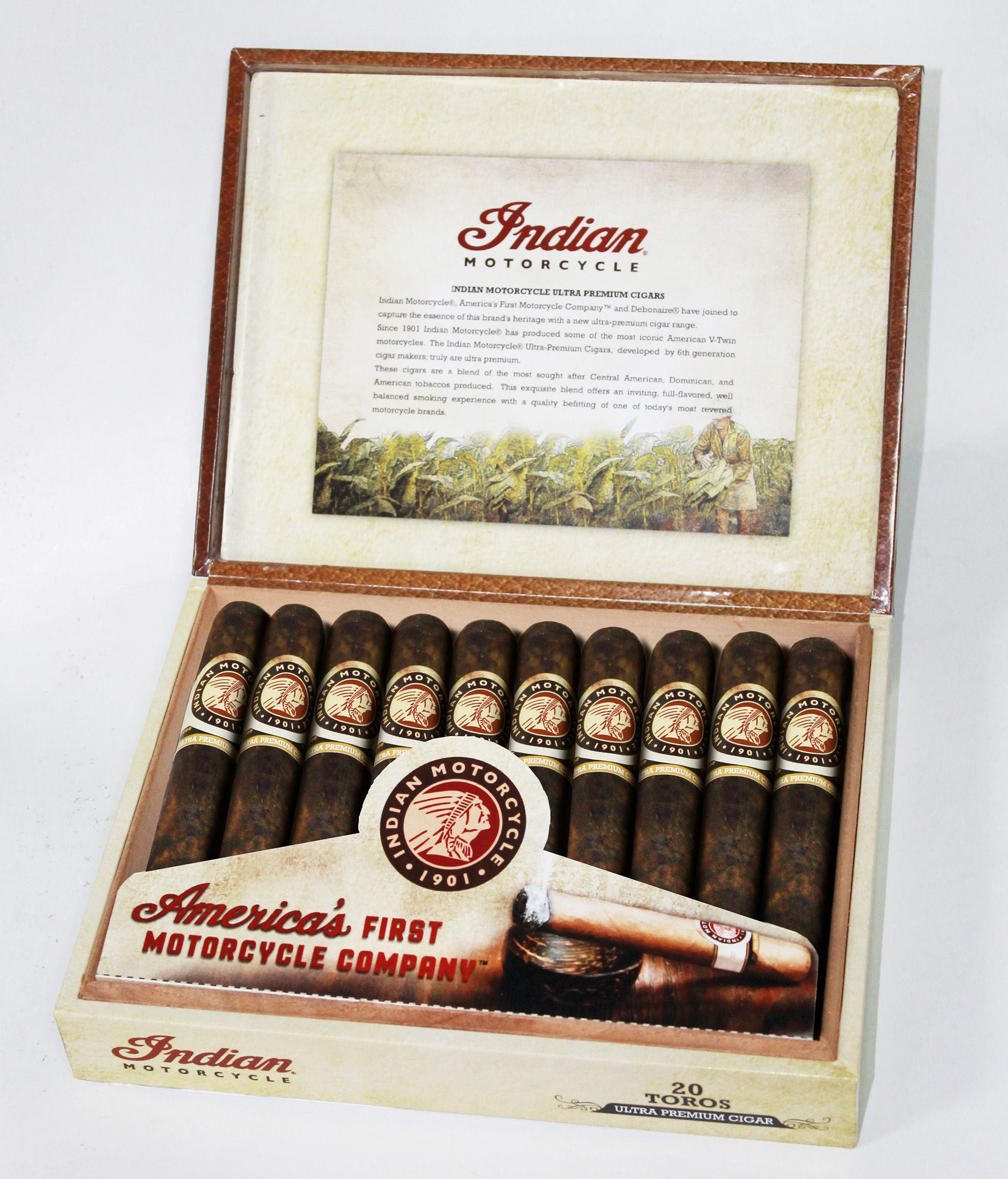 Indian Motorcycle Cigars 2015 Open Box 2