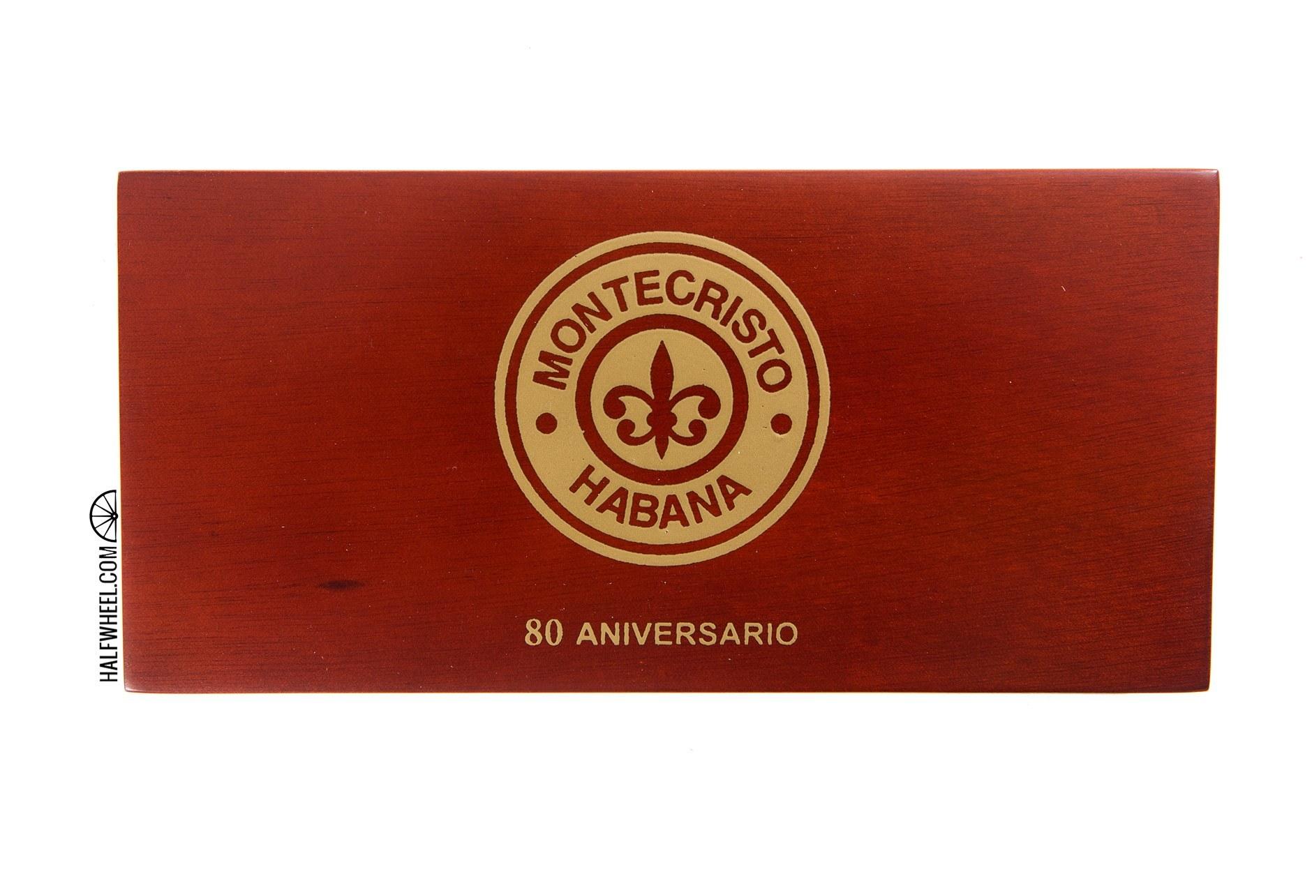 Montecristo 80 Aniversario Box 1