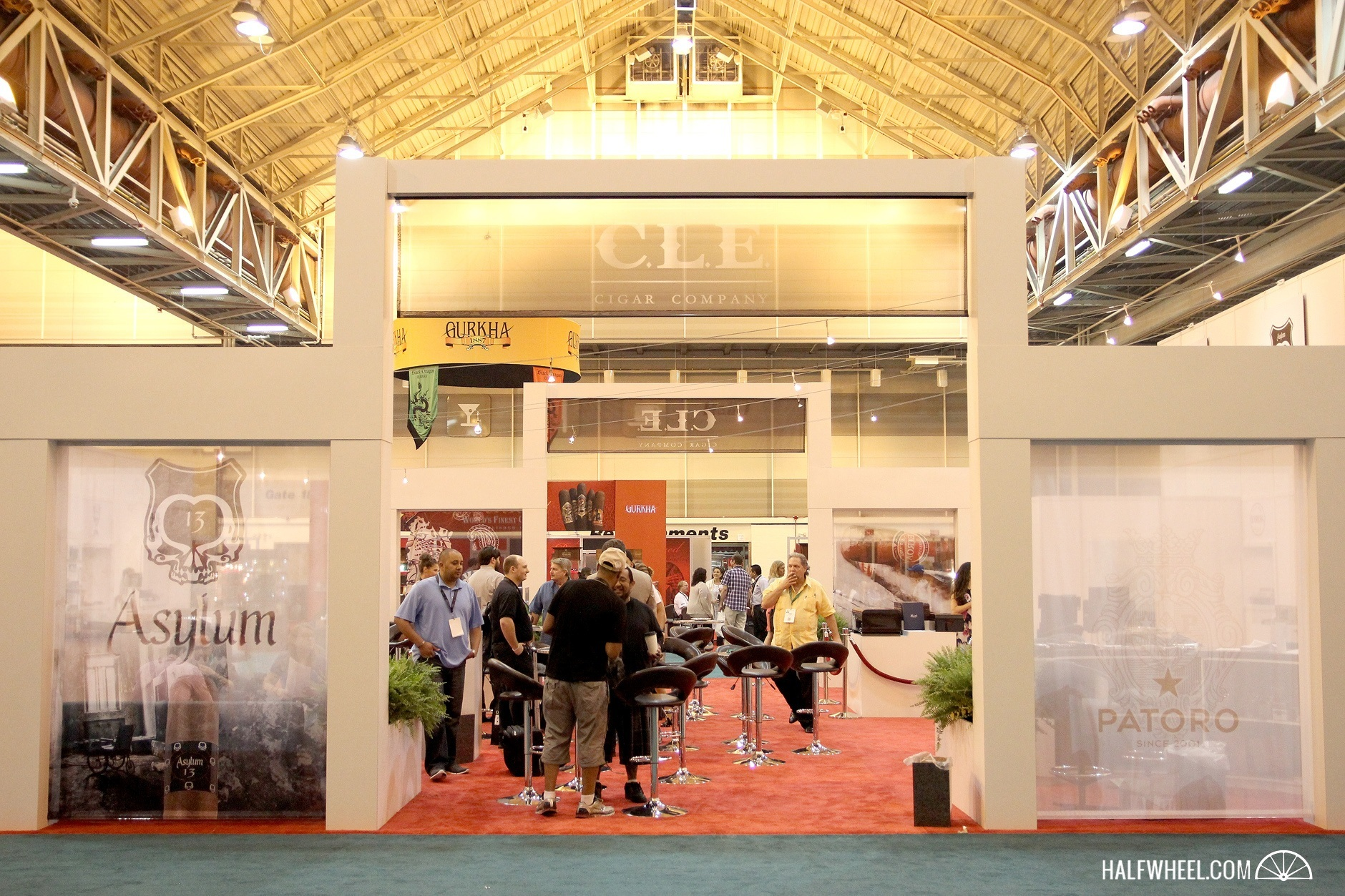 CLE IPCPR 2015 booth