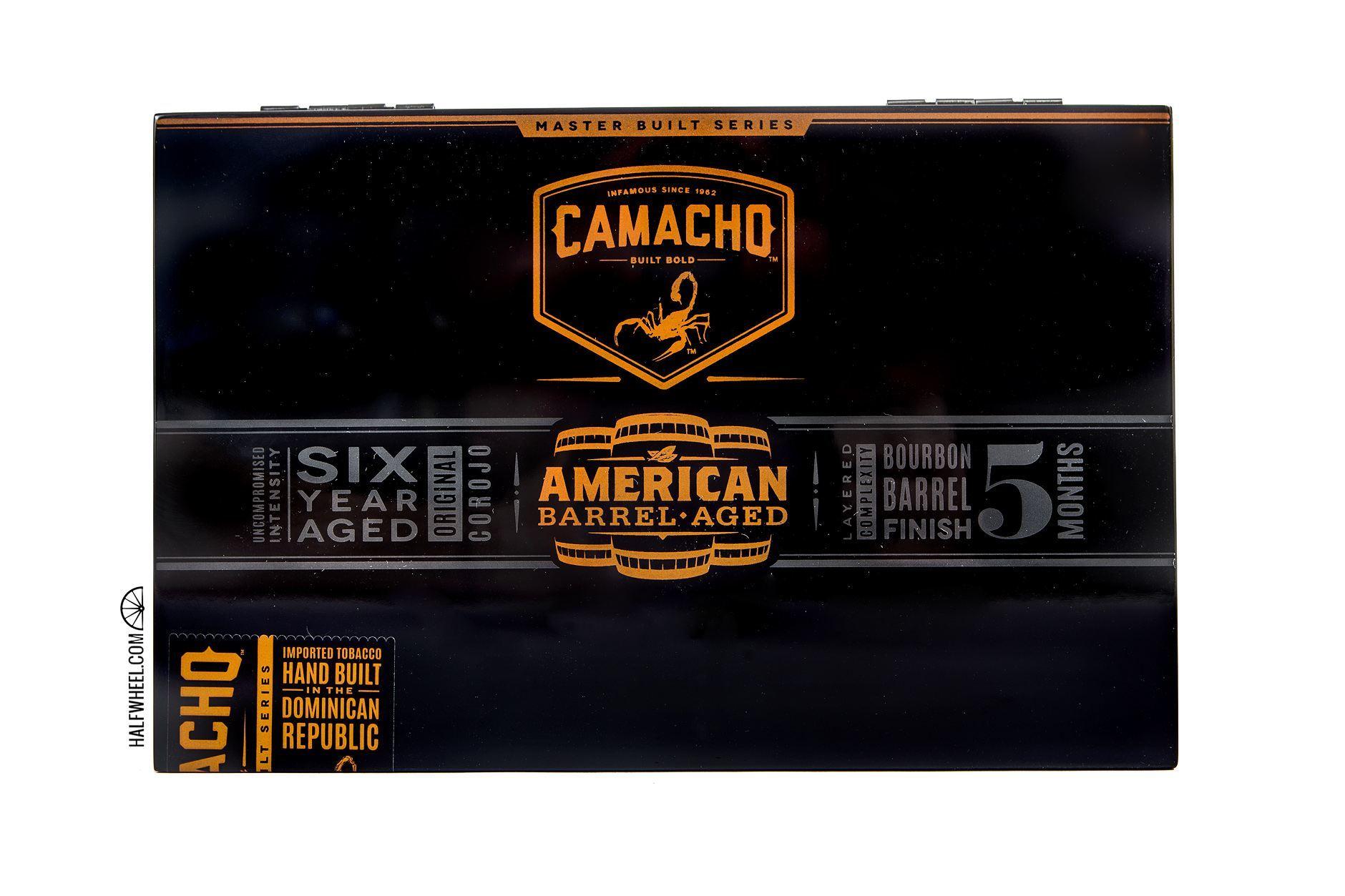 Camacho American Barrel-Aged Toro Box 1