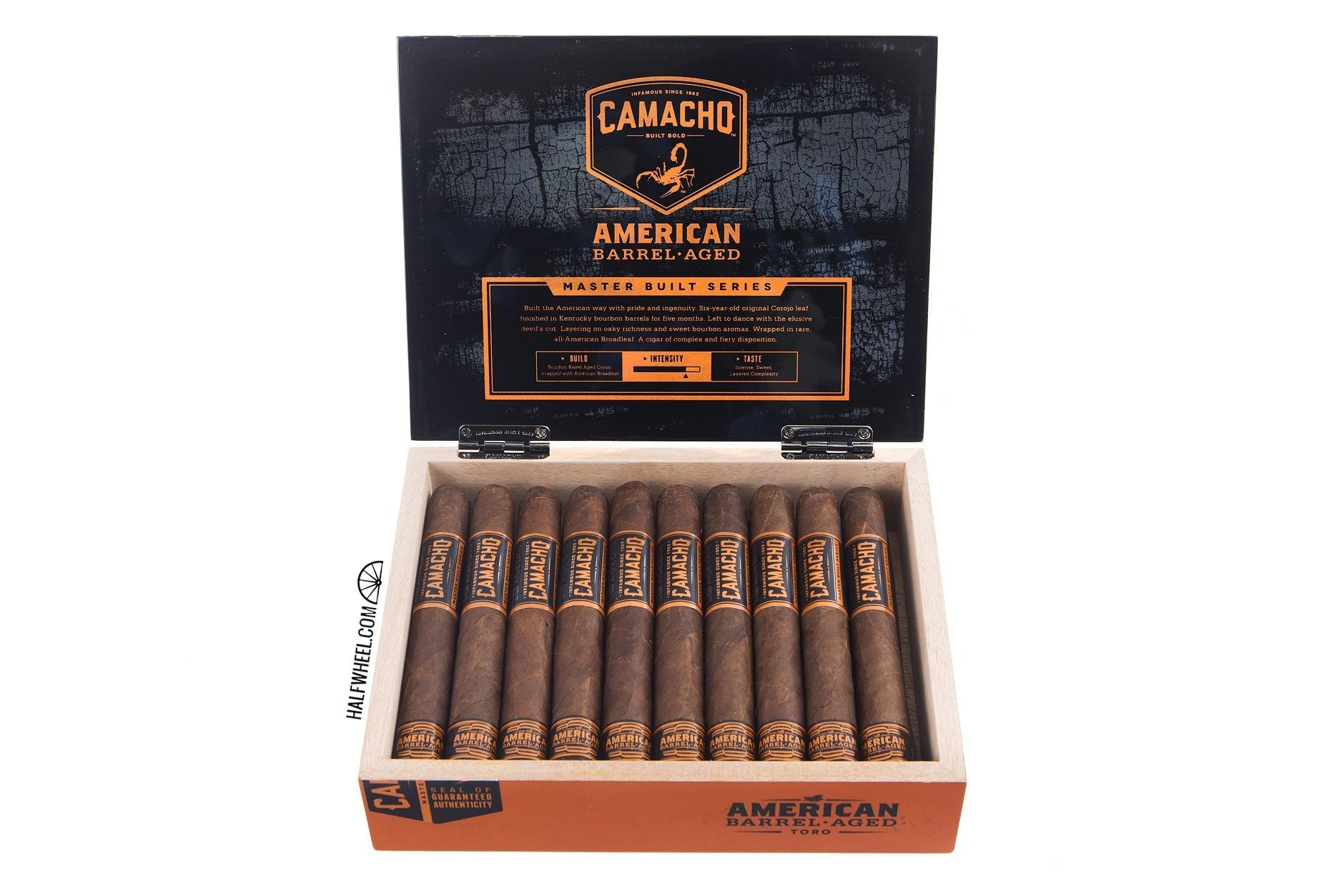 Camacho American Barrel-Aged Toro Box 2
