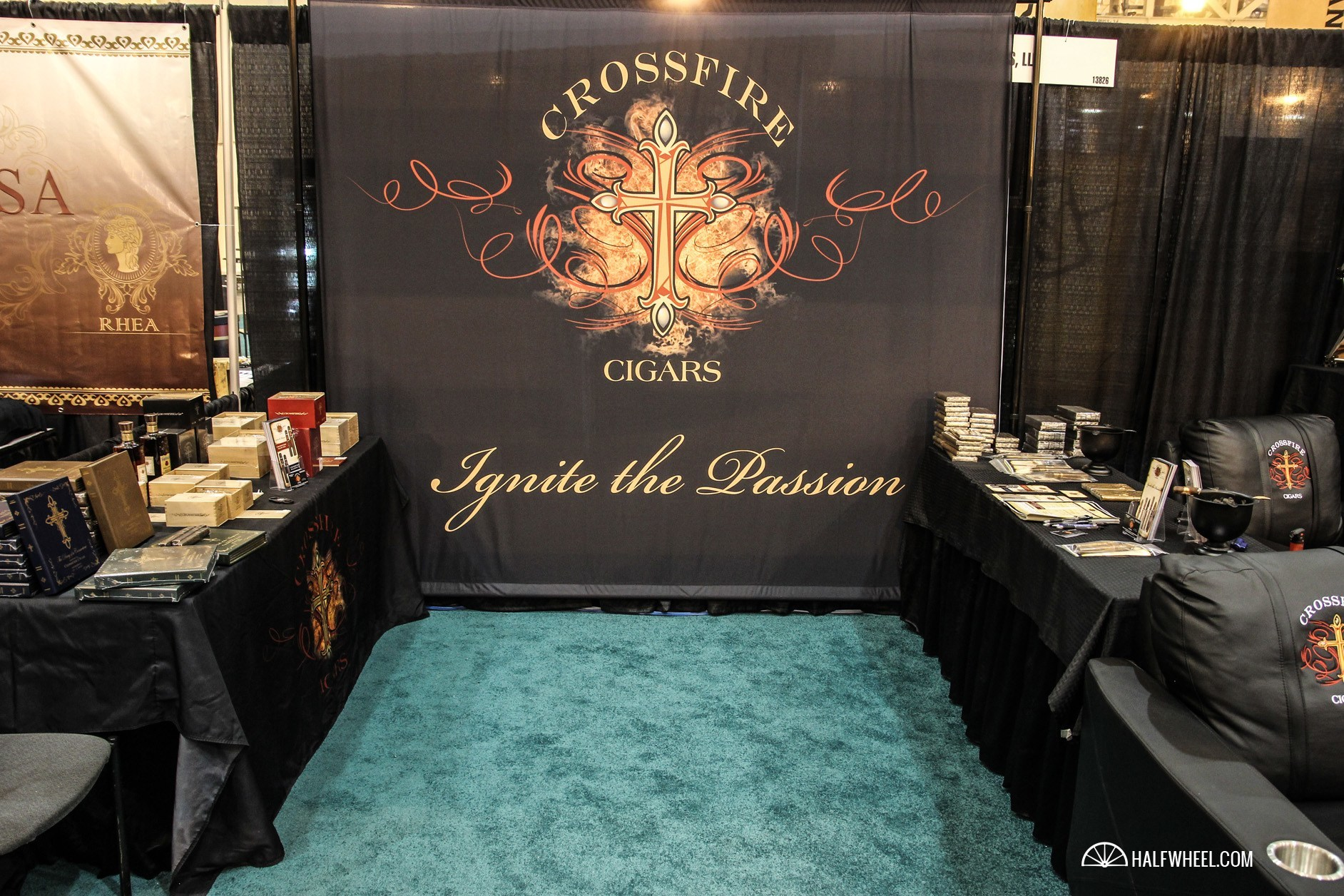 Crossfire CIgars  booth