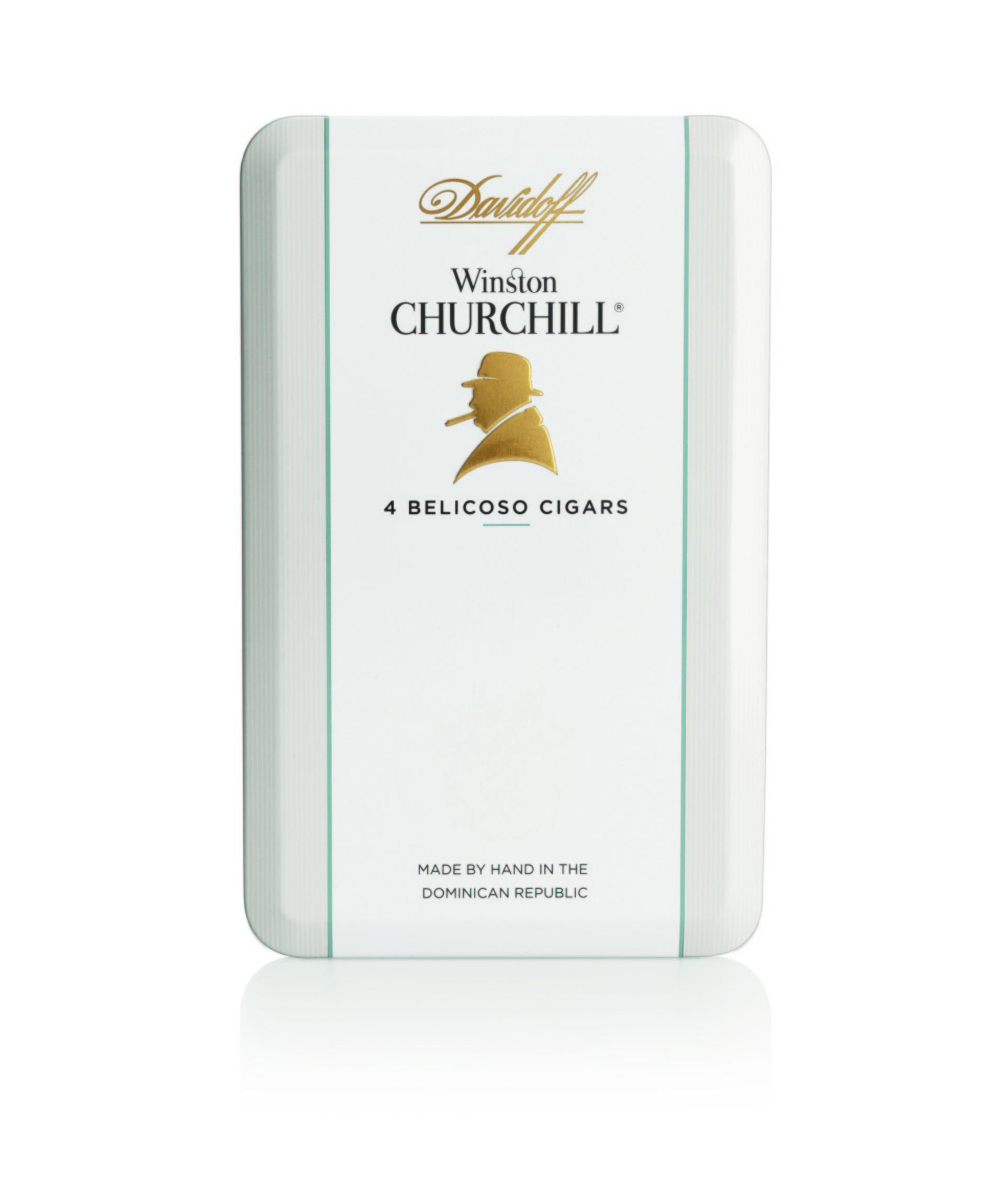 Davidoff Winston Churchill Belicoso tin