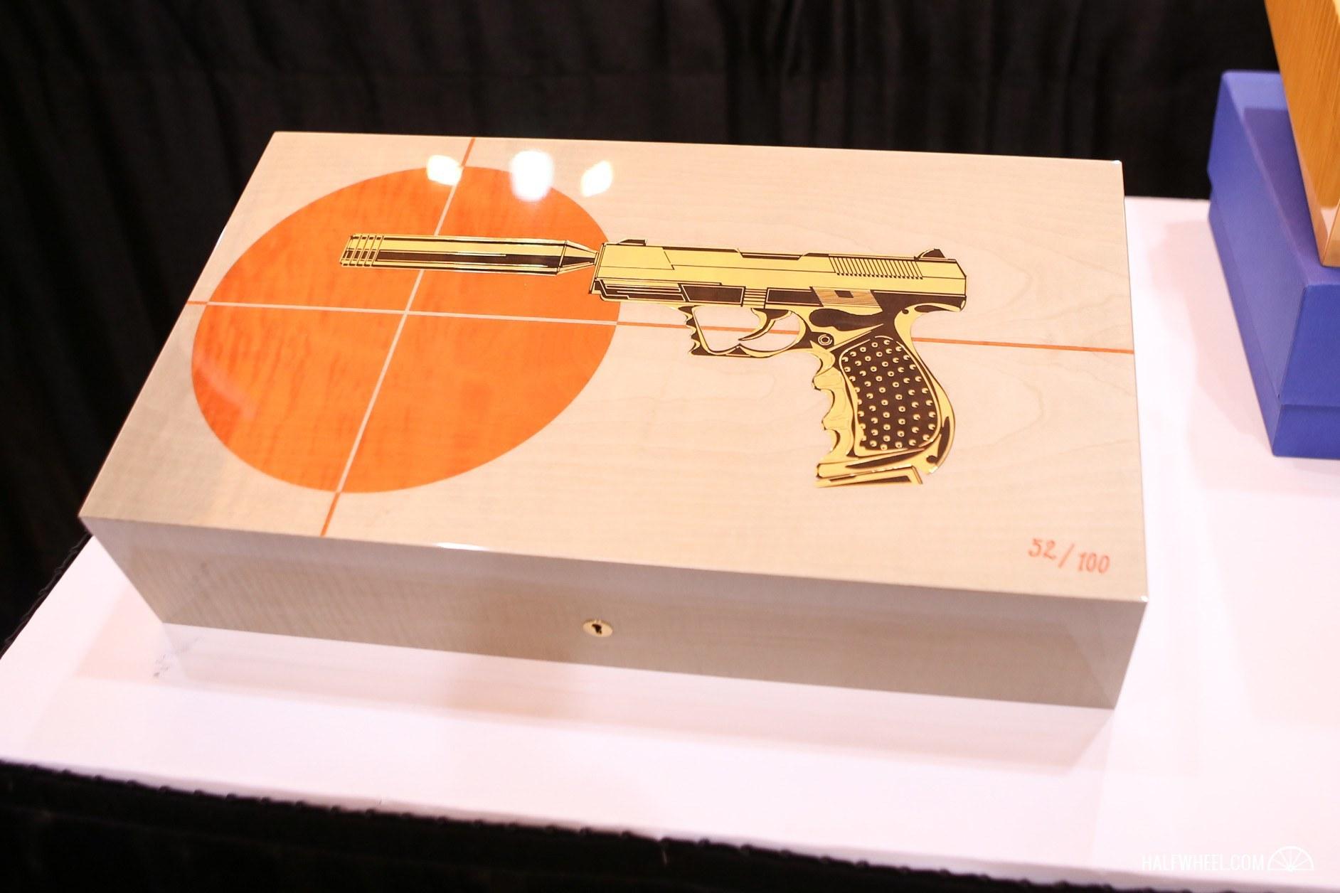 Elie Bleu Gun Humidor 1