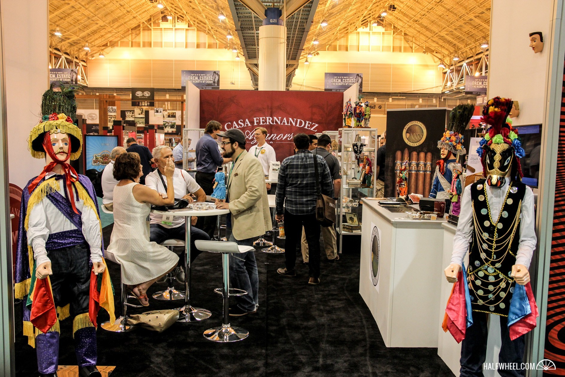 Foundation Cigar Co Booth IPCPR 2015