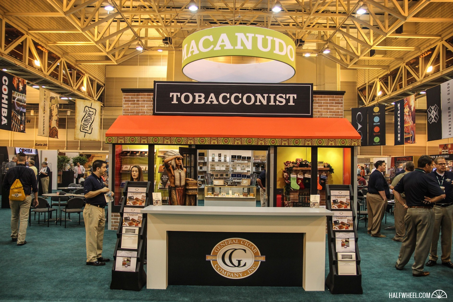 General Cigar IPCPR 2015 booth