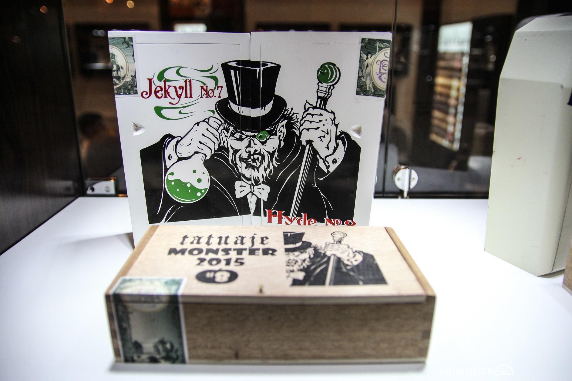 Tatuaje Monster 2015 boxes