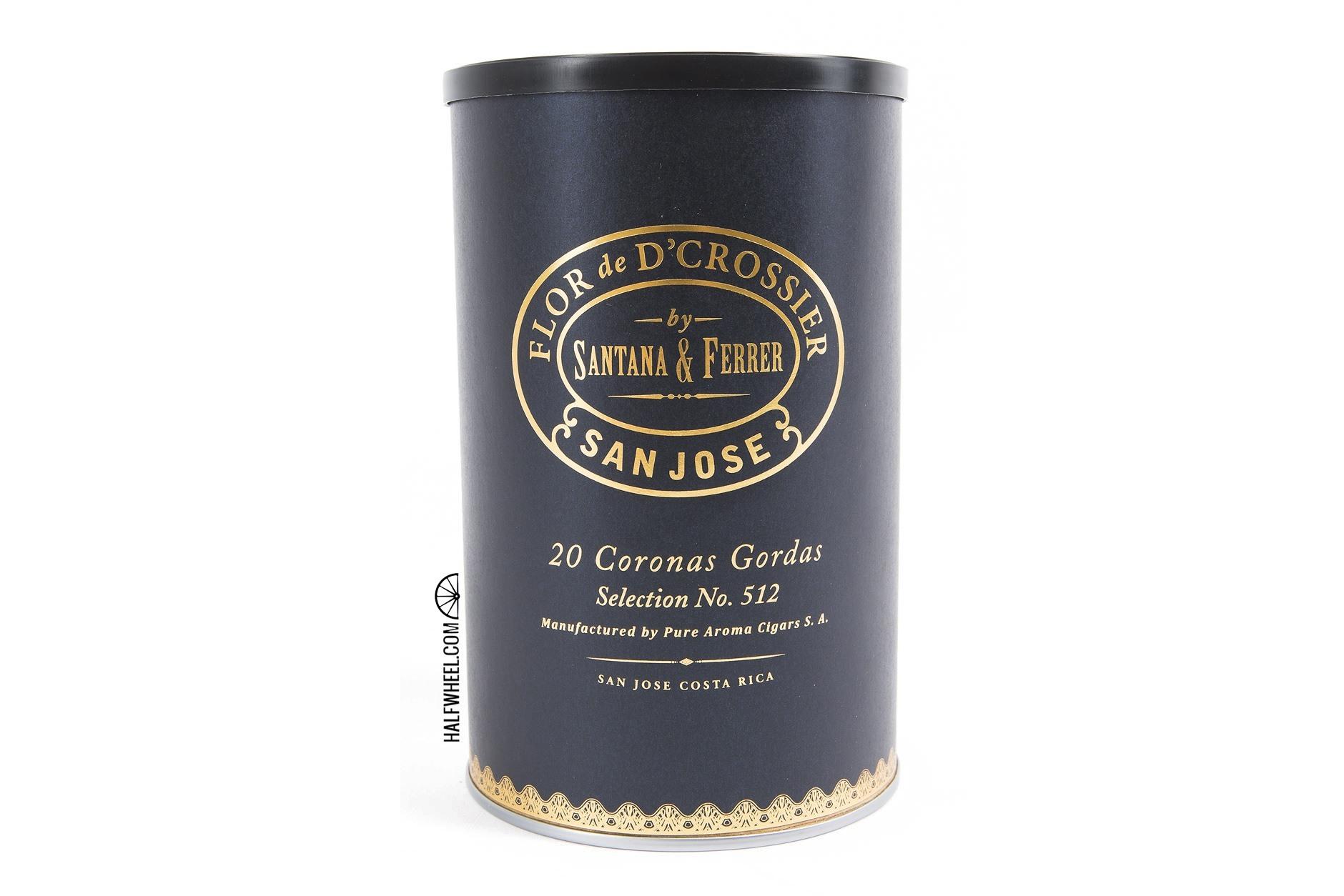 Flor de D'Crossier Selection No. 512 Corona Gorda Jar 1 copy