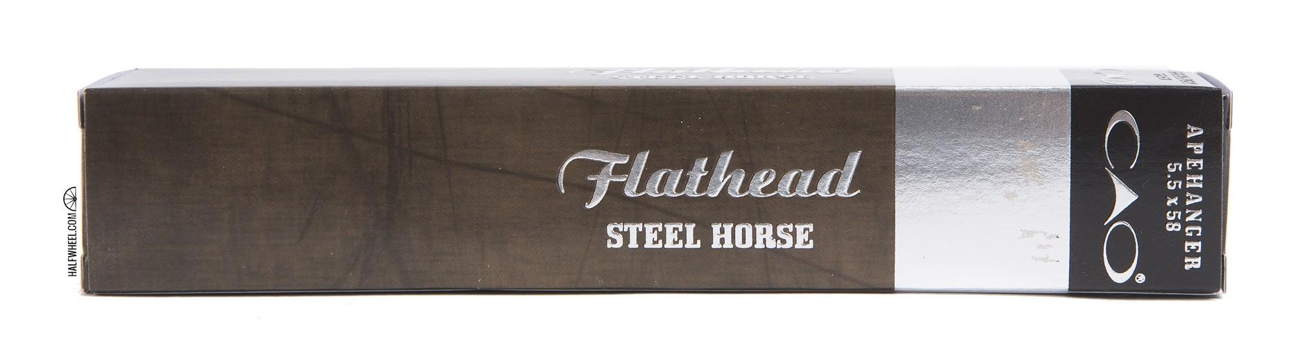 CAO Flathead Steel Horse Apehanger Coffin 1